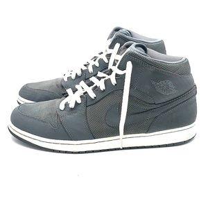 Nike Air Jordan 1 Phat Cool Grey White Size 13